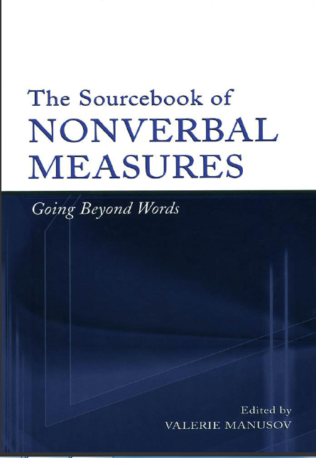 The Sourcebook of Nonverbal Measures_ Going Beyond Words-Psychology Press (2004)-